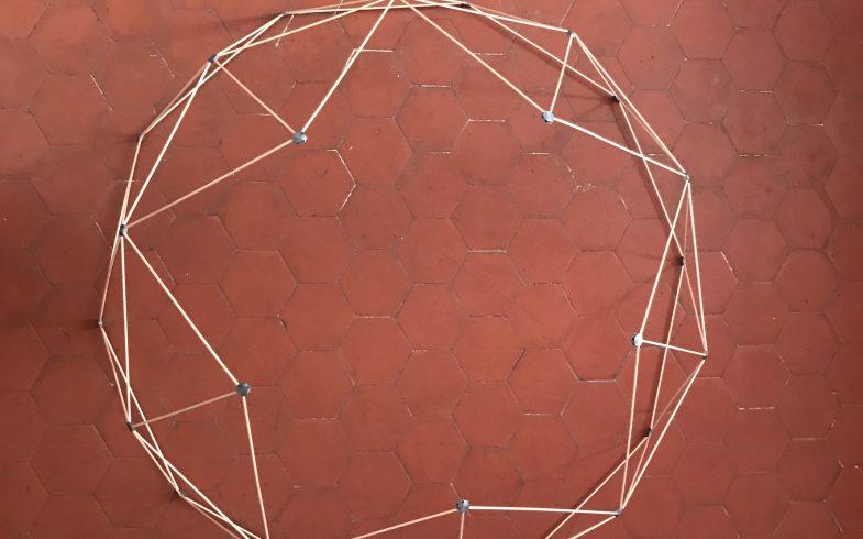 Dôme géodésique 2V